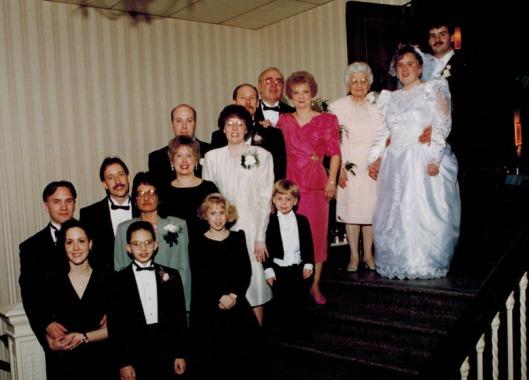 wedding - my family