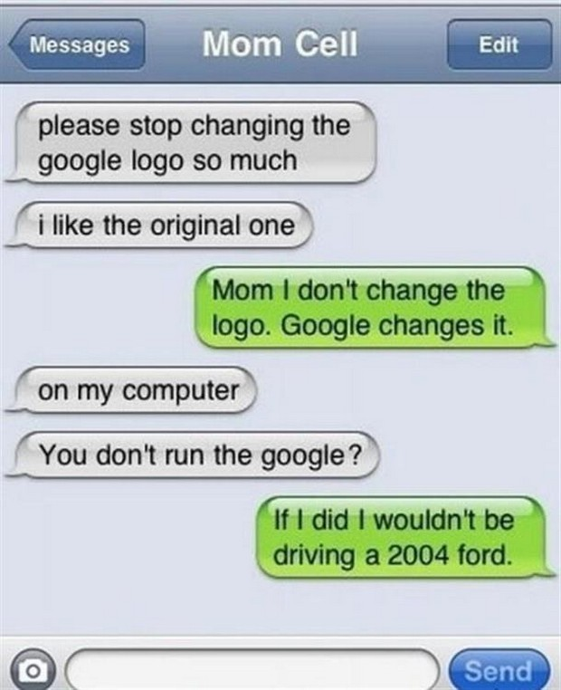 There's Nothing More Hilarious Than These 25 Absurd Texts ...  |Dumb Mom Texts