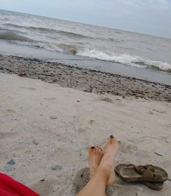 beach on Oct. 1