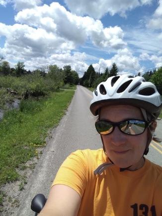biking clouds