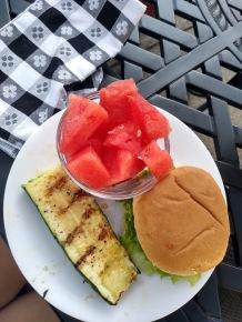 liking - grilled zucchini