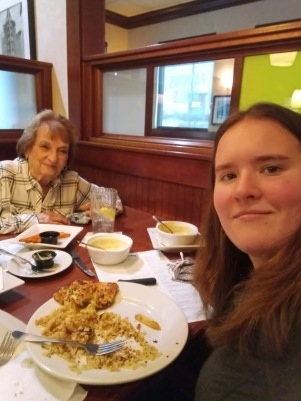 kelly and grandma